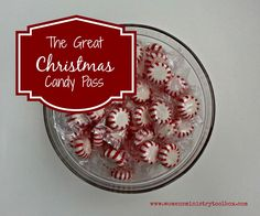 Icebreaker: The Great Christmas Candy Pass - quick and easy, fun for your Women's Ministry, Sunday School, or Bible study Christmas party.