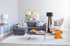 Modern pop - Modern - Living Room - Images by Wayfair   Wayfair