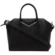 Givenchy Mini 'antigona' Black Cross Body Bag (48 545 UAH) ❤ liked on Polyvore featuring bags, handbags, shoulder bags, mini cross body purse, mini crossbody purse, crossbody shoulder bag, cross-body handbag and givenchy