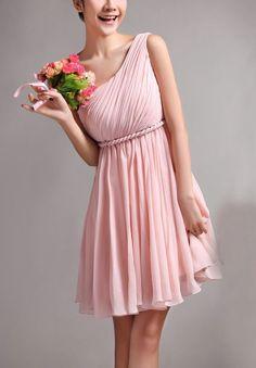 chiffon-one-shoulder-asymmetrically-pleated-bodice-a-line-short-long-bridesmaid-dress $89