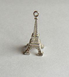 Eiffel Tower sterling silver charm | eBay