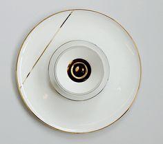 David / Nicolas - Beirut-based design studio, created Digital Love - a series of 30 unique, decorated plates.