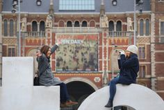 https://flic.kr/p/CcR3FD | Have a great photographic 2016! | © all rights reserved by B℮n  Ice skating in the heart of Amsterdam at the Museumplein. This square is called Museum Square because four museums are located around the square: the Rijksmuseum, the Van Gogh Museum, the Stedelijk Museum, and the Diamond Museum. Many visitors enjoy the beautiful winter weather. The Museumplein was reconstructed ten years ago to a design by a Swedish architect. The artificial lake which is converted…