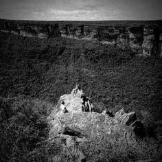 Mirante a caminho do cume do Morro do Castelo #valedopati #chapadadiamantina