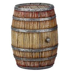 Wine/Whiskey+Barrel+by+Reutter+Porzellan+ part of the center piece