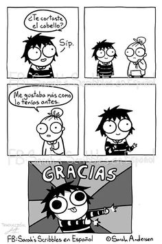 Anybody who's familiar with the comics of Sarah Andersen will know how perfectly they summarize the daily struggles of modern life, especially when it comes to Sarah Anderson Comics, Sara Anderson, Cute Comics, Funny Comics, Sarah See Andersen, Sarah's Scribbles, 4 Panel Life, Comic Manga, Anime Manga