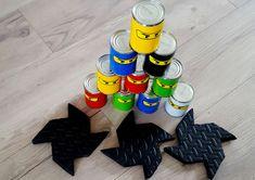 Ninjago partybox - Made by Melissa. Ninjago partybox – Made by Melissa Ninjago P Lego Ninjago, Ninjago Party, Ninjago Games, Ninja Birthday Parties, Birthday Party Decorations, Party Themes, Themed Parties, Party Box, Festa Ninja Go