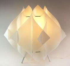 Mid Century Style DIY Sculptural Folding Lamp by ThreeStepsAhead, $175.00