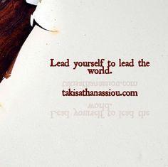 Who said leadership is easy? #textgram  #leadership #takis #takisathanassiou  #leadershipinitiative