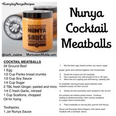 COCKTAIL MEATBALLS perfect for when you're watching the Seahawks game with the fam. #EverydayNunyaRecipes