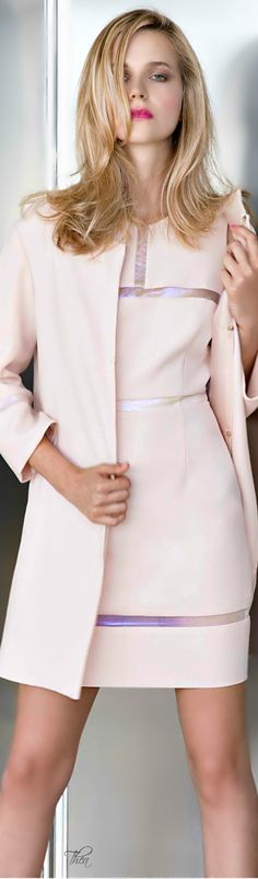 Genny ● Resort 2015 women fashion outfit clothing style apparel @roressclothes closet ideas