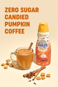 International Delight has all the flavor you need to up your Pumpkin Spice Coffee game at home that's sugar-free. Mix up your favorite creamer flavors to create something new. Variety is the Pumpkin Spice of life, right? Tell kids it's homework time Pour coffee in favorite mug. Leave plenty of room. Add 1 splash Zero Sugar Pumpkin Pie Spice. Add 2 splashes Zero Sugar Caramel Macchiato. Add sugar-free caramel sauce, optional. Pumpkin Coffee Recipe, Sugar Free Pumpkin Pie, Pumpkin Spice Coffee, Spiced Coffee, Coffee Recipes, Sugar Free Creamer, Pie Spice Recipe, Soft Sugar Cookies, Sugar Candy