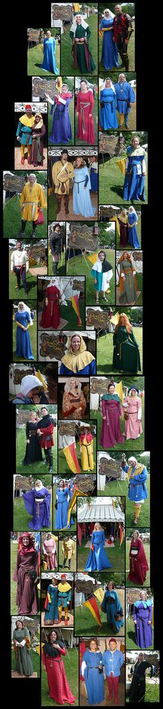 Medieval Clothing- Customer Event Photos