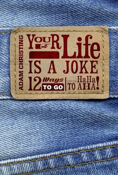 Book cover design for YOUR LIFE IS A JOKE | 99designs