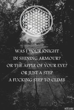 and the snakes start to sing - bring me the horizon.