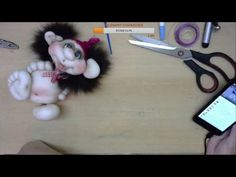 Малыши-голыши. Чулочная техника - YouTube Sock Toys, Foam Crafts, Soft Dolls, Artisanal, Precious Moments, Doll Face, Gnomes, Projects To Try, Artwork