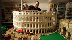 Can you believe this Colosseum replica is made from Legos?! Builder Ryan McNaught assembled this beauty out of 200,000 pieces! See the details with Gizmodo.