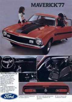 11979 - FORD - Maverick 1977 - GT 4 cil. - Para gente de espírit