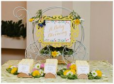 A Baby Is Blooming Flower Inspired Baby Shower   Pretty My Party
