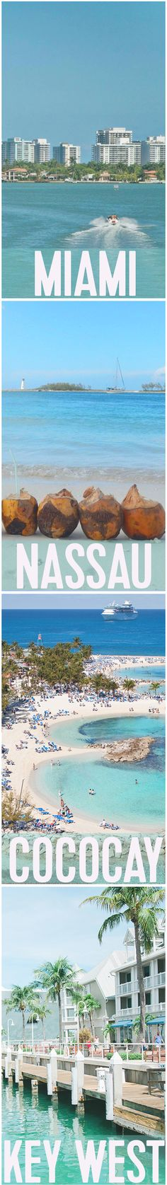 Enchantment of the Seas | Being one of the most popular Royal Caribbean itineraries, you'll be able to explore the world-famous Miami Beach one day, and adventure through the breathtaking Bahamian wilderness the next.