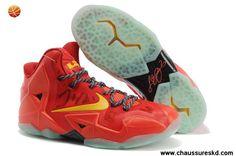 buy popular c0818 f486c 616175 001 Total Crimson Jaune Nike Lebron 11 P.S. Elite Vente Kobe 9 Shoes,  Kd