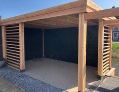 Outdoor Garden Bar, Diy Outdoor Bar, Outdoor Gazebos, Outdoor Kitchen Design, Outdoor Rooms, Backyard Seating, Backyard Patio, Backyard Landscaping, Budget Patio