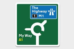 60 designers revisitent les panneaux de signalisation routiere