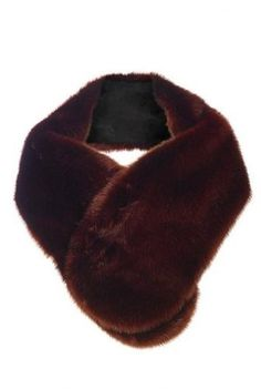 Tall Longline Faux Fur Scarf at Long Tall Sally. Tall Clothing for Tall Women at PrettyLong.com