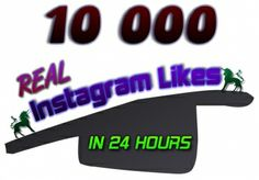 10000 REAL Worldwide Instagram Likes [No Bots] for $5