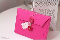 instructions for making this quick little envelope for storing a set of cards--perfect little gift!