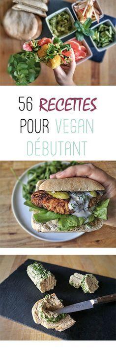 Ebook de 56 recettes simples et faciles pour vegan débutant réalisé par Vegan freestyle : pâtes, burger, fromage, desserts, sandwichs ... https://www.veganfreestyle.com/ebooks-vegan/ #vegan #ebook