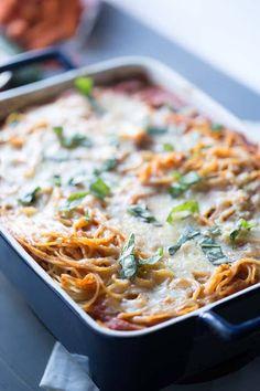 Baked Spaghetti Lasagna Recipe on Yummly