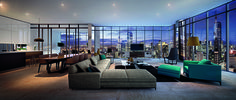 The penthouse at Platinum Tower
