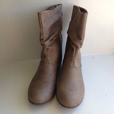 Tan Paxton Boot Color is tan. Brand new with tag. It's middle ankle boot. Low East Side Shoes Ankle Boots & Booties