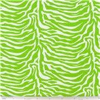 KNT- Lime Green & White Zebra Jersey Knit Fabric