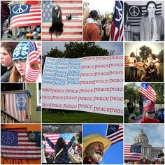 """Peace Symbol Flag  Peace Symbol Flag"""" The peace symbol flag first became known in the United States in 1958"""