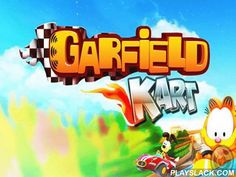 Garfield Kart  Android Game - playslack.com , happy kart races with Garfield and his colleagues: Odi, room and Nermol.