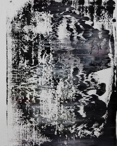abstract N° 1050, Koen Lybaert, oil on paper. #art