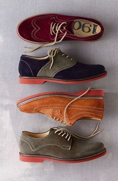 Fashion Mens Shoes Suede brogues ~ The Vintagologist Me Too Shoes, Men's Shoes, Shoe Boots, Dress Shoes, Suede Shoes, Footwear Shoes, Shoes Men, Sharp Dressed Man, Well Dressed Men