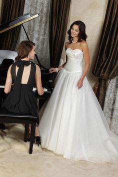 Style 50187 » Wedding Gowns » DaVinci Bridal » Available Colours : Ivory, White
