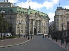 Banco de la Nación Argentina. Plaza de Mayo. Buenos Aires.