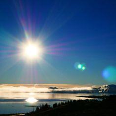 All the sun. This makes me happy.  #iceland #sunshine #blueskies #nofilterneeded #landscape_captures #goldencircle #travelgram #travel  #everydayiceland #explore #wander #inspired