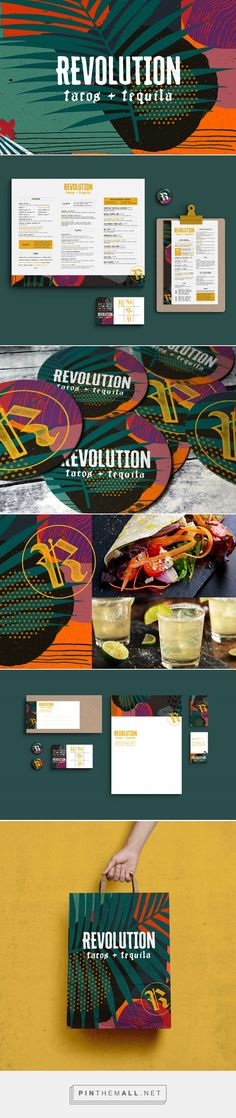 Revolution Tacos + Tequila Restaurant Branding and Menu Design by Elizabeth L. Kilgore | Fivestar Branding Agency – Design and Branding Agency & Curated Inspiration Gallery