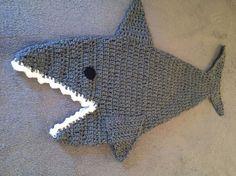 Hai-Decke Hai Kokon Hai Schlafsack Schlaf Sack Shark Tail