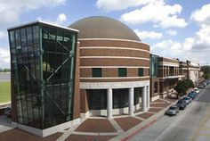 The Louisiana Art & Science Museum located on the banks of the Mississippi River in Baton Rouge, Louisiana