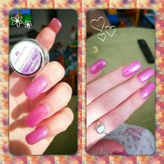 Thank you to our regular customer Kelly for sending in a photo of her nails with our Summer Pink UV Gel Colour GL200537. ❤ them!  Why not do it yourself   #diy #naildesign