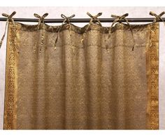 Dress saris Jazz Sari Curtains Our signature Indian Sari are made from an entire sari, the traditional Indian dress. They feature embroidered trim on both sides and adjustable tie tops. Indian Curtains, Jazz, Ugly Outfits, Velvet Curtains, Home Decor Items, Indian Dresses, Traditional, Tie, House