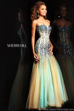 Would love to have a place to wear a dress like this!  Sherri Hill - Style 21108 #pageant #dresses