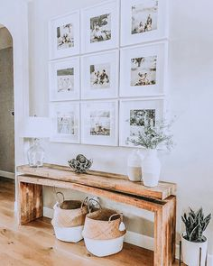 modern farmhouse foyer design with rustic bench and wall gallery, neutral farmhouse hallway d. modern farmhouse foyer design with rustic bench and wall gallery, neutral farmhouse hallway decor, fixer upper bench and.