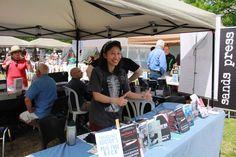 Melissa Yi Prose in the Park 2016 www.proseinthepark.com Stockholm Syndrome, Second Doctor, Thriller, Baby Strollers, Novels, Medical, Park, Children, Celebrities